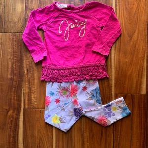 JUICY COUTURE Toddler girls outfit